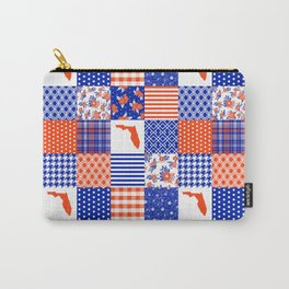 Florida University gators swamp life varsity team spirit college football quilted pattern gifts Carry-All Pouch