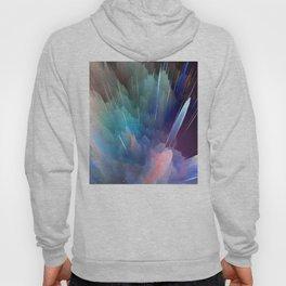 Color Burst Design Hoody