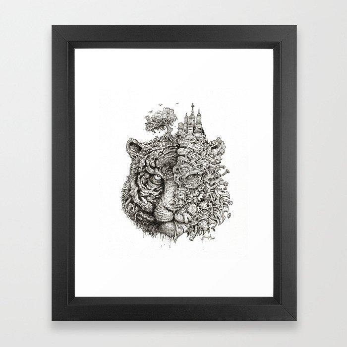 Equilibrium Framed Art Print