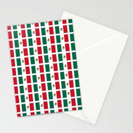 Flag of mexico 2- mexico,mexico city,mexicano,mexicana,latine,peso,spain,Guadalajara,Monterrey Stationery Cards