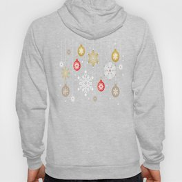 Christmas Day Ornaments Hoody