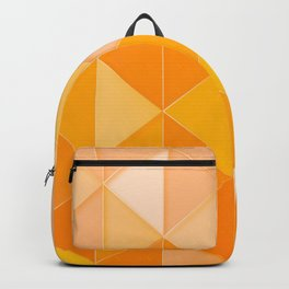 Triangle pattern Backpack