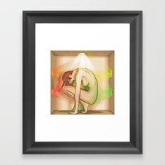 Light in a Box Framed Art Print