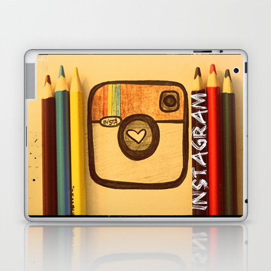 For Instagram Lovers ;) Laptop & iPad Skin