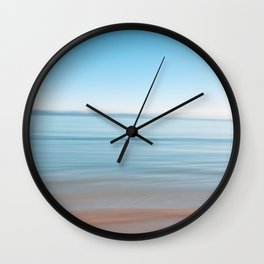 Ocean colors  Wall Clock