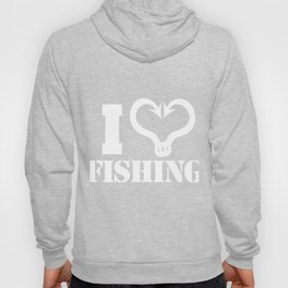 I Heart Fishing Hoody