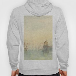 "J.M.W. Turner ""Venice: The New Moon – The Dogana from the steps of The Hotel Europa"" Hoody"
