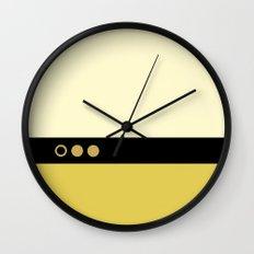 Data - Minimalist Star Trek TNG The Next Generation - Enterprise 1701 D - startrek - Trektangles Wall Clock
