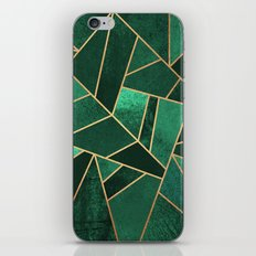 Emerald and Copper iPhone & iPod Skin