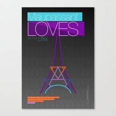 Paris (2 of 5) Canvas Print