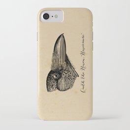 Nevermore - Edgar Allan Poe - Quoth the Raven iPhone Case