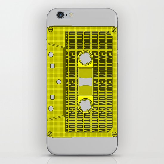 Caution Tape iPhone & iPod Skin