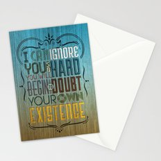 I can ignore you Stationery Cards