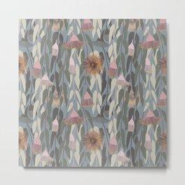 Flowering eucalyptus, australian flora Metal Print