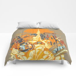 Smash! Zap!! Zooom!! - Butt-Chinned Captain Comforters