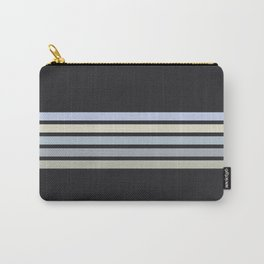 Colorful Stripes Black VI Carry-All Pouch