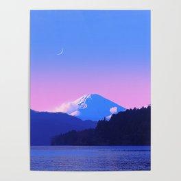 Mount Fuji Sunrise Poster