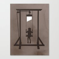 Swing Blade Canvas Print