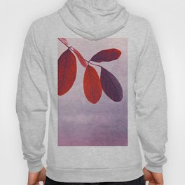 red leafs Hoody