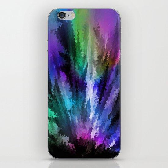 Rainbow colors. iPhone & iPod Skin