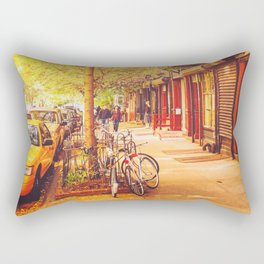 Autumn - East Village - New York City Rectangular Pillow