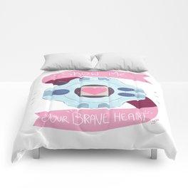 Brave Heart Comforters