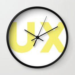 UX Wall Clock