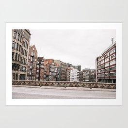 Speicherstadt Art Print