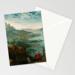 "Pieter Bruegel (also Brueghel or Breughel) the Elder ""Landscape with the flight into Egypt"" Stationery Cards"