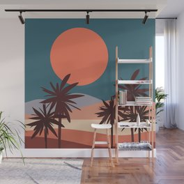 Abstract Landscape 13 Portrait Wall Mural