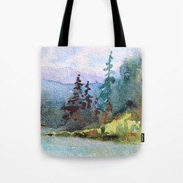 Nature: Cool Shores of Freedom Tote Bag