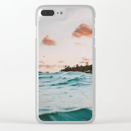 summer sunset iv Clear iPhone Case