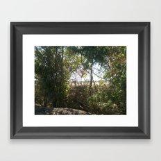Hidden out of mind Framed Art Print