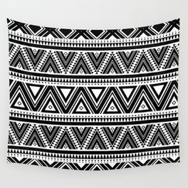 Aztec Ethnic Pattern Art N3 Wall Tapestry