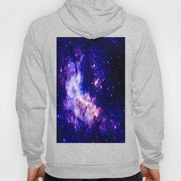 indigo galaxy : Celestial Fireworks Hoody