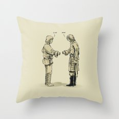 Pleased To Meet You Throw Pillow
