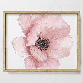 Flower 21 Art Serving Tray