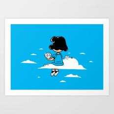 I wonder where Lucy is... Art Print
