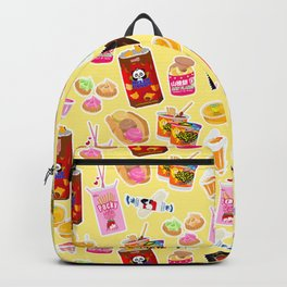 Asian Sweets Pattern Backpack