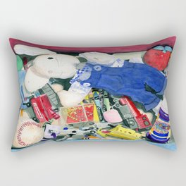 Toy Box Rectangular Pillow