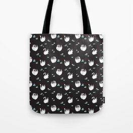 Swan Pond Tote Bag