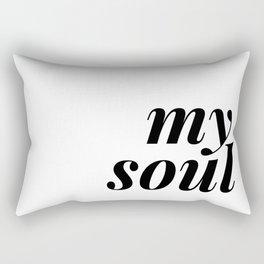 be still my soul (2 of 2) Rectangular Pillow