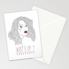 What's Up ? Stationery Cards