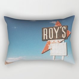 Roy's Motel Rectangular Pillow