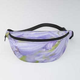 Flowers in the rain Fanny Pack
