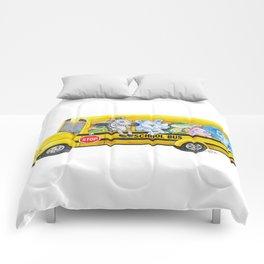 Animal SchoolBus Comforters