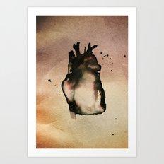 On love, Art Print