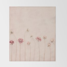 Cameo pink Throw Blanket
