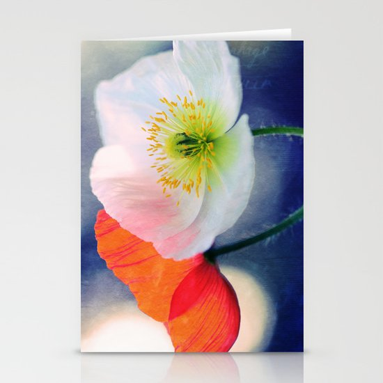Evening Poppies Stationery Cards