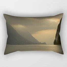 Peaceful Lake Rectangular Pillow